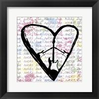 Framed Love Rocks