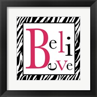Believe 1 Framed Print