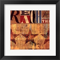 Reach Framed Print