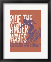 Framed Amber Waves