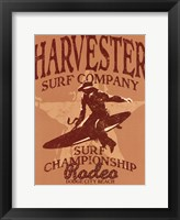 Harvester Framed Print