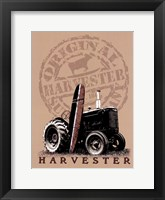 Framed Tractor Surfboard