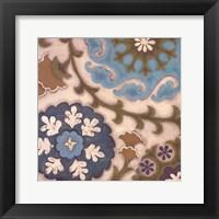Framed Suzani Florals IV