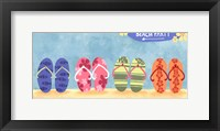 Framed Beach Flops