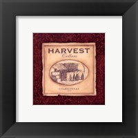 Chardonnay - square Framed Print