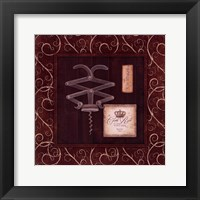 Corkscrew I Framed Print