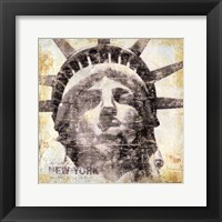 New York Framed Print