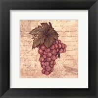 Grapes II Framed Print