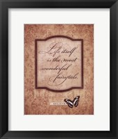 Life Itself Framed Print