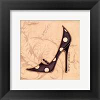 Sophisticated Black Heel Framed Print