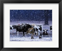 Framed One Snowy Night