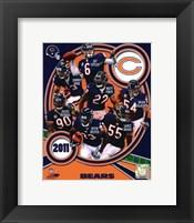 Framed Chicago Bears 2011 Team Composite