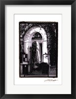 Cafe Charm, Paris III Framed Print