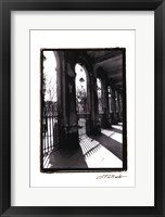 Parisian Archways II Framed Print