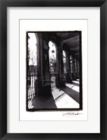 Parisian Archways II Framed Print