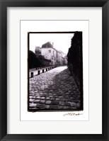 Parisian Walkway II Framed Print