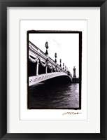 Along the Seine River I Framed Print