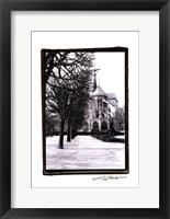 Framed Notre Dame Cathedral IV