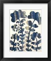 Blueberry Blossoms II Framed Print