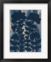 Blueberry Blossoms IV Framed Print