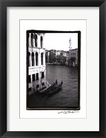 Waterways of Venice VI Framed Print