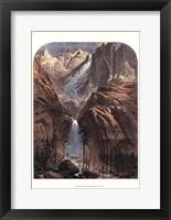Framed Yosemite Falls