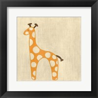 Framed Best Friends- Giraffe