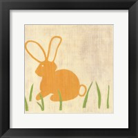 Best Friends- Bunny Framed Print