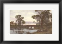 Towards the Golden West Framed Print