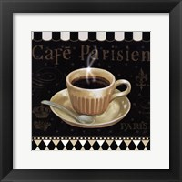 Cafe Parisien I Framed Print
