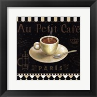 Cafe Parisien II Framed Print