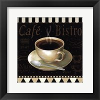 Cafe Parisien IV Framed Print