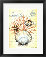 Under the Sea I Framed Print