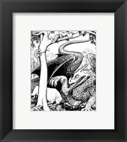 Framed Dragon III