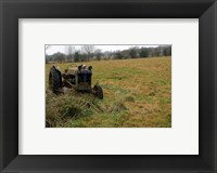 Framed Tractor photograph