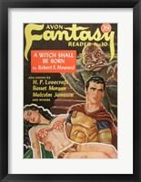 Framed Avon Fantasy Reader 10