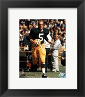 Framed Paul Hornung - Action