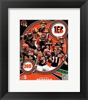Framed Cincinnati Bengals 2011 Team Composite