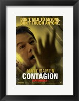 Framed Contagion - Matt Damon