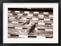 Framed Swimming Event at the 1984 Summer Olympics
