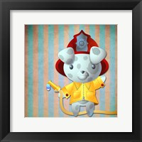 Framed Little Firemans Helper