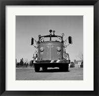 Fire Engine Framed Print