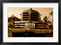 Isuzu Fire Engine Framed Print