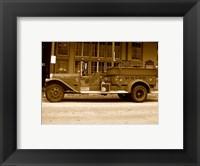 Framed Rosie  O'Grady Firetruck