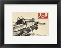 Framed Small Vintage Air Mail I