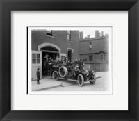 Framed Vintage Pakard Firesquad