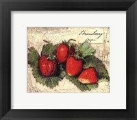 Framed Fresco Fruit XII