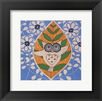 Framed Summer Owl