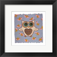 Framed Whimsy Owl