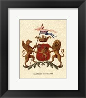 Framed Stately Heraldry I